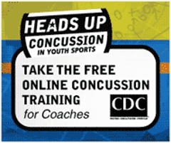 Concussion training for Coaches!