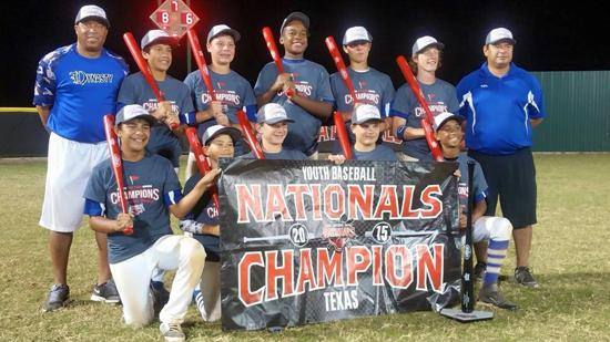Dynasty 13U wins Baseball Nationals Championship