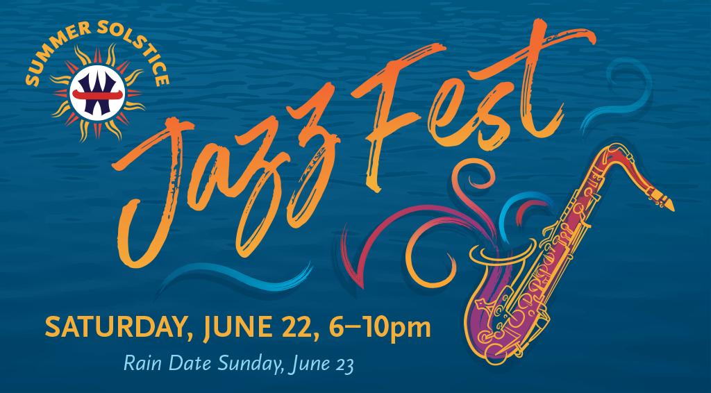WCC Summer Solstice Jazz Fest Header