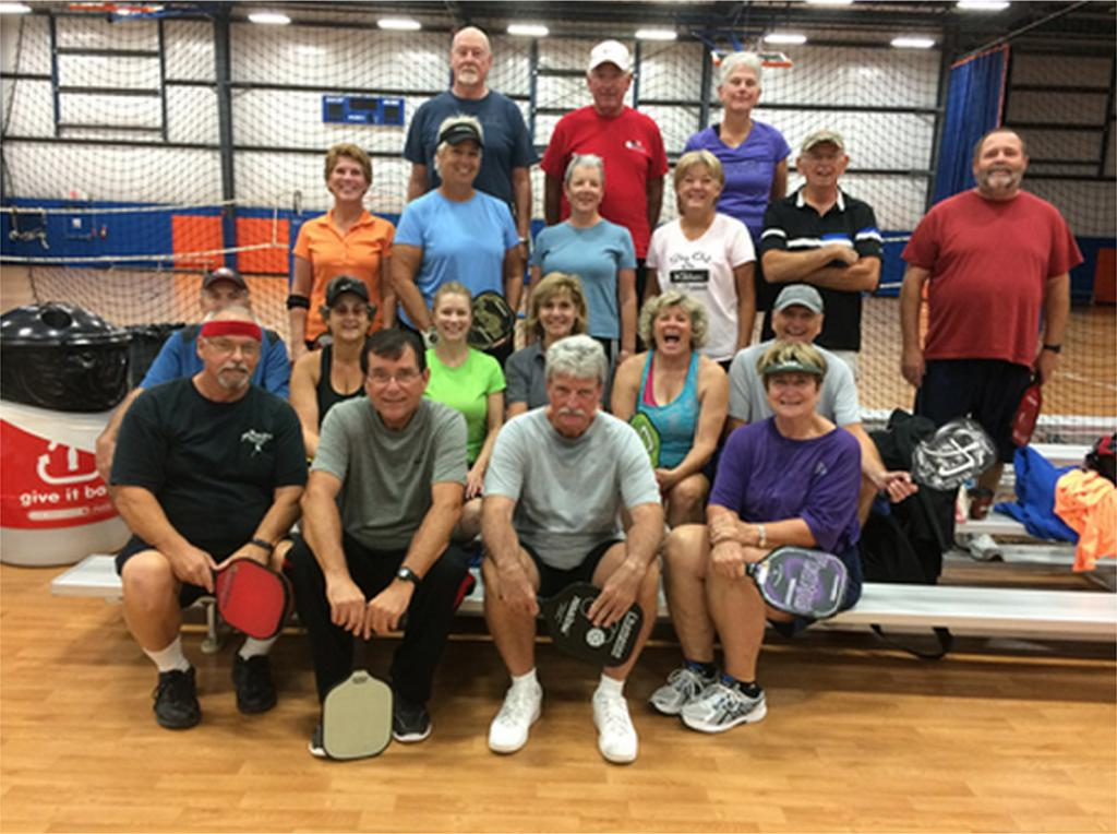 Pickle Ball at Carolina Courts