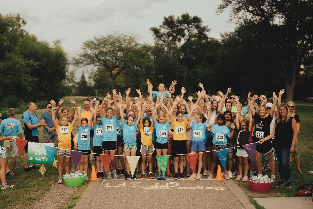 2019 EGAA Girls Run Team