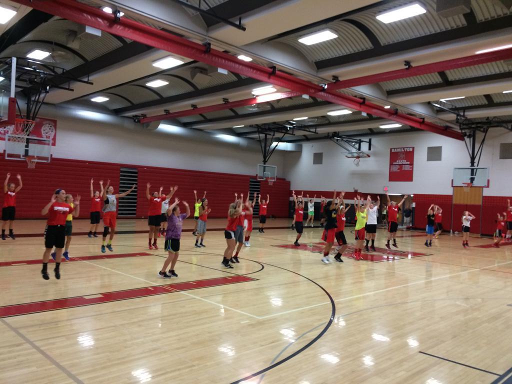 Hamilton Girls Basketball Camp Summer 15 Photos