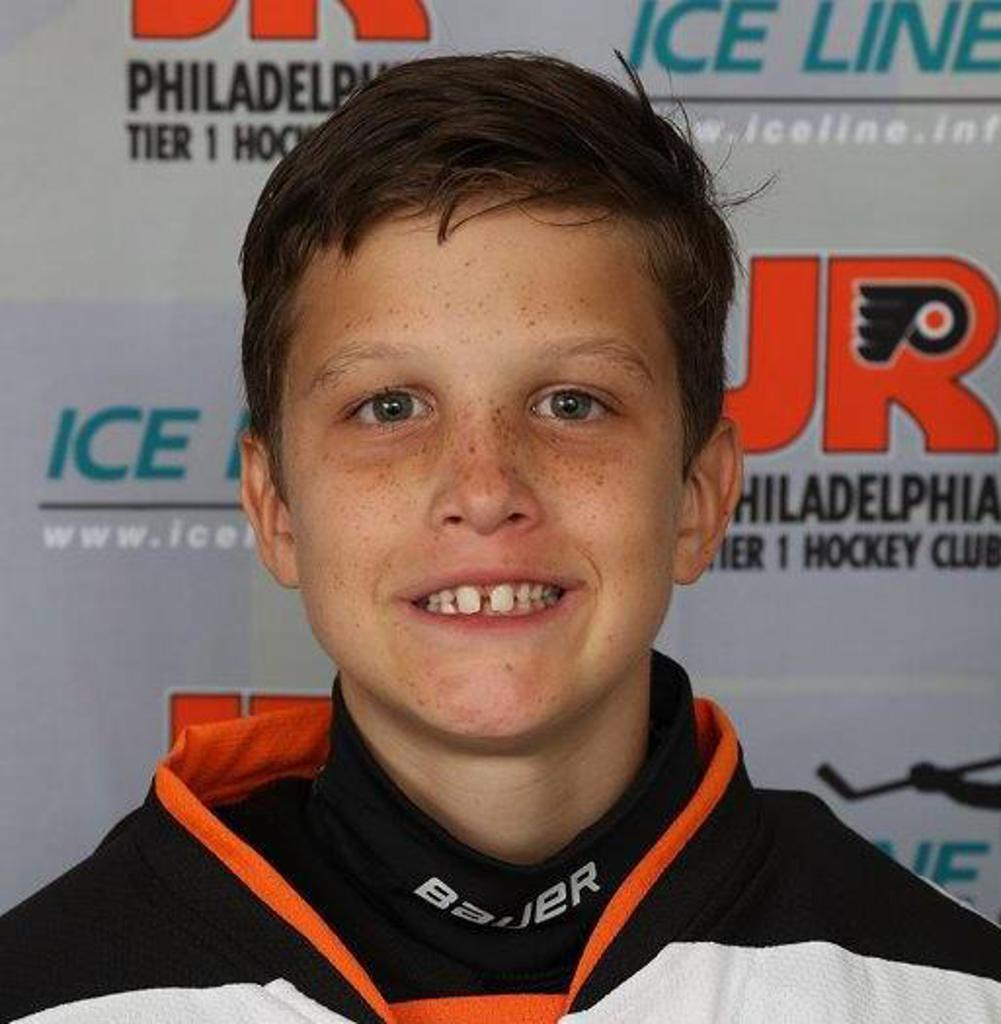 Jr. Flyers announce Squirt Spotlight for week ending January 20 features Blake Brena
