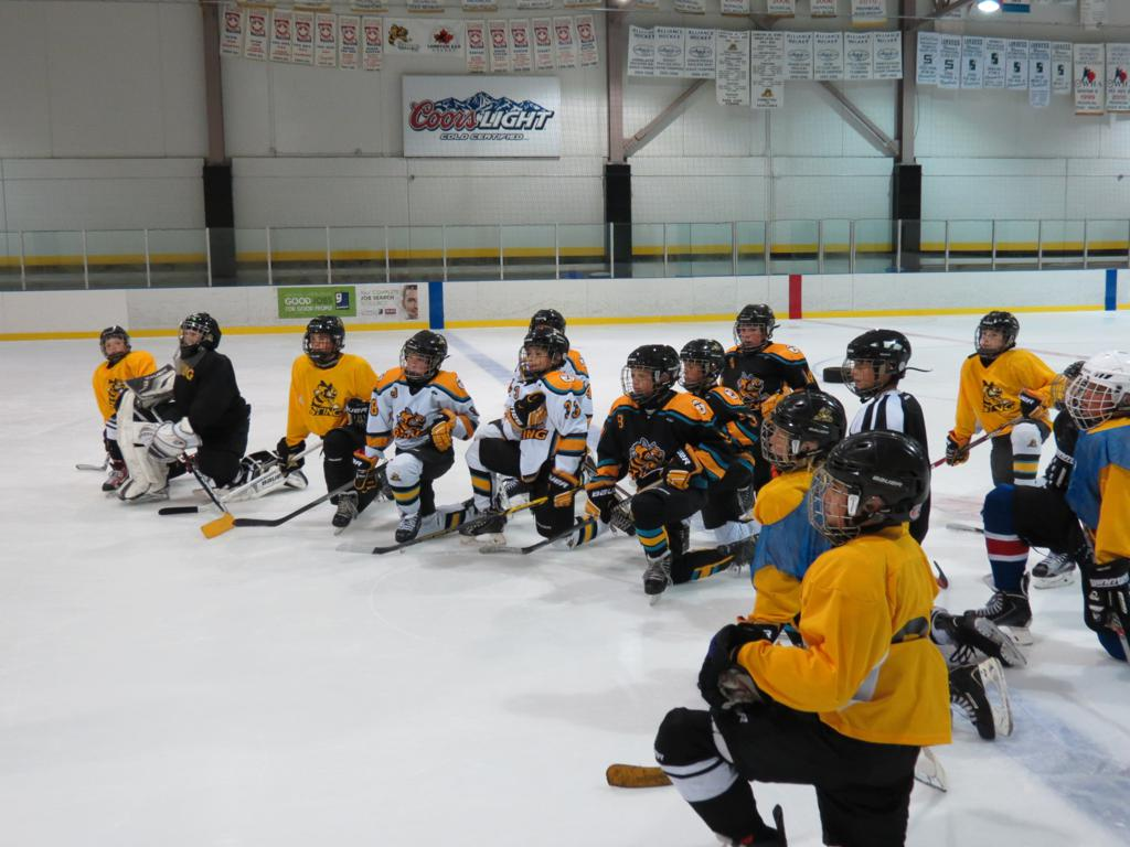 Midget hockey camp
