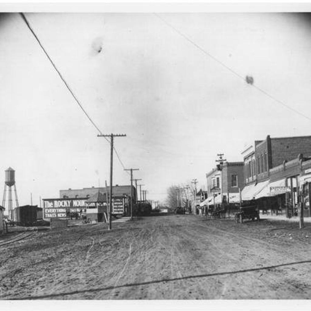 Just prior to 90 years ago before they laid down the Street.