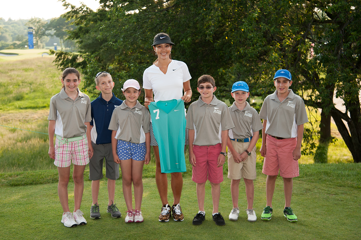 PGA Jr. League Golf Ambassador, Michelle Wie