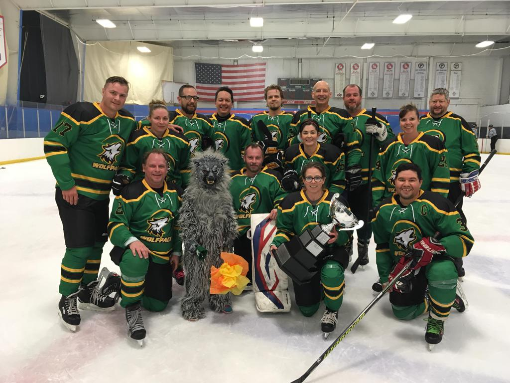 Z League Norris Division Champions - Wolfpack