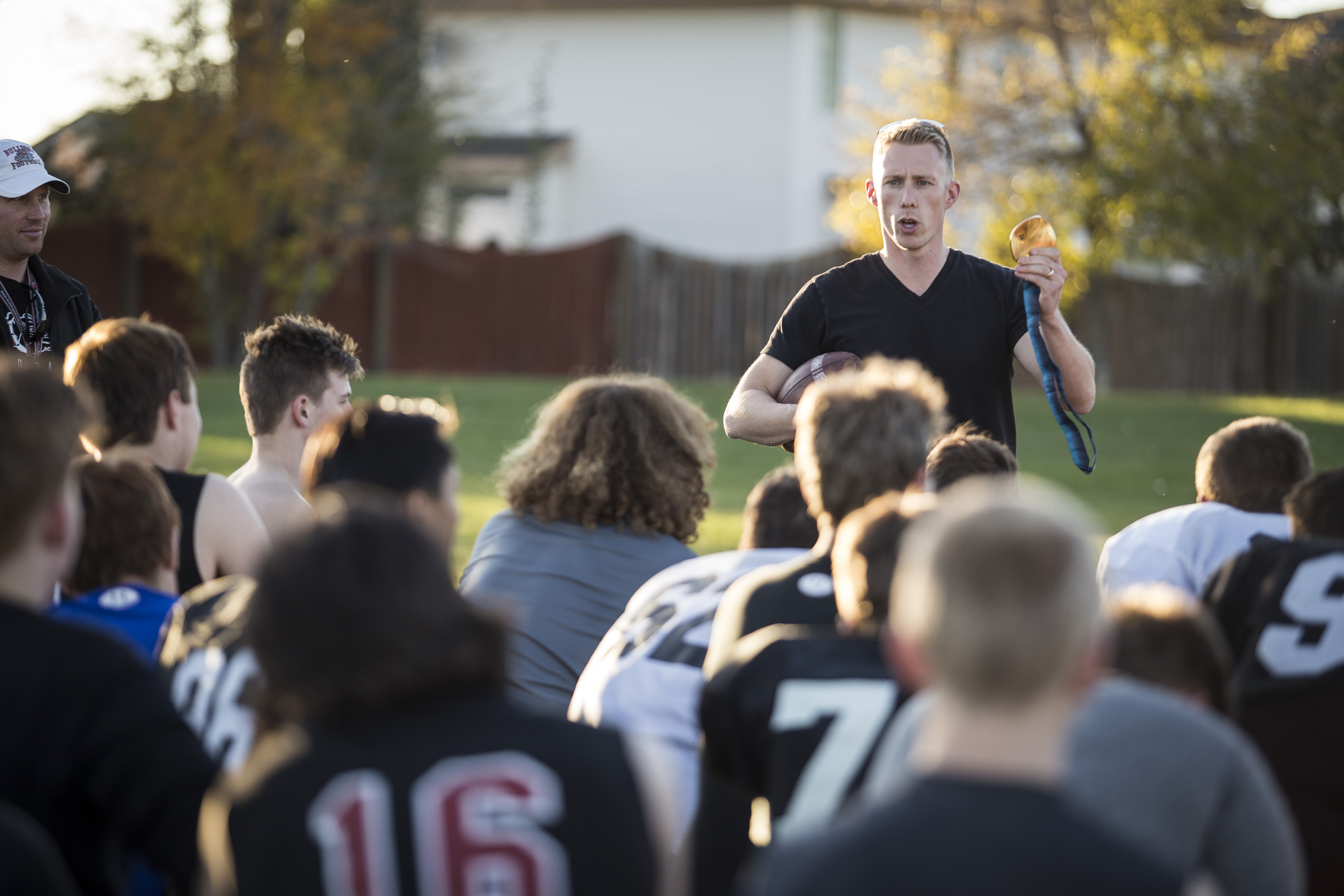 Mark Kennedy talks to Bulldogs Football