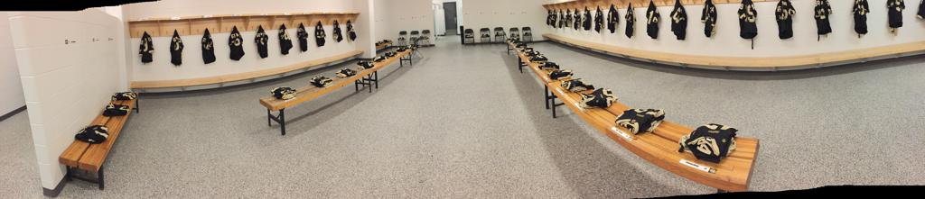 Our Home Game Dressing Room
