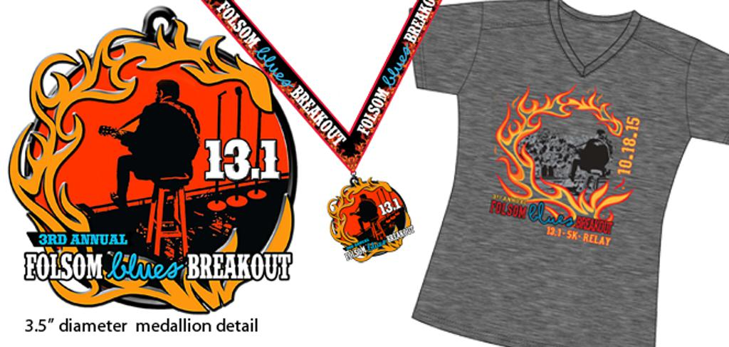 FBB 2015 medal and t-shirt