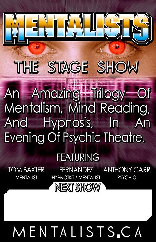 Ed Fernandez - Anthony Carr - Tom Baxter - Magic Show Toronto - ESP