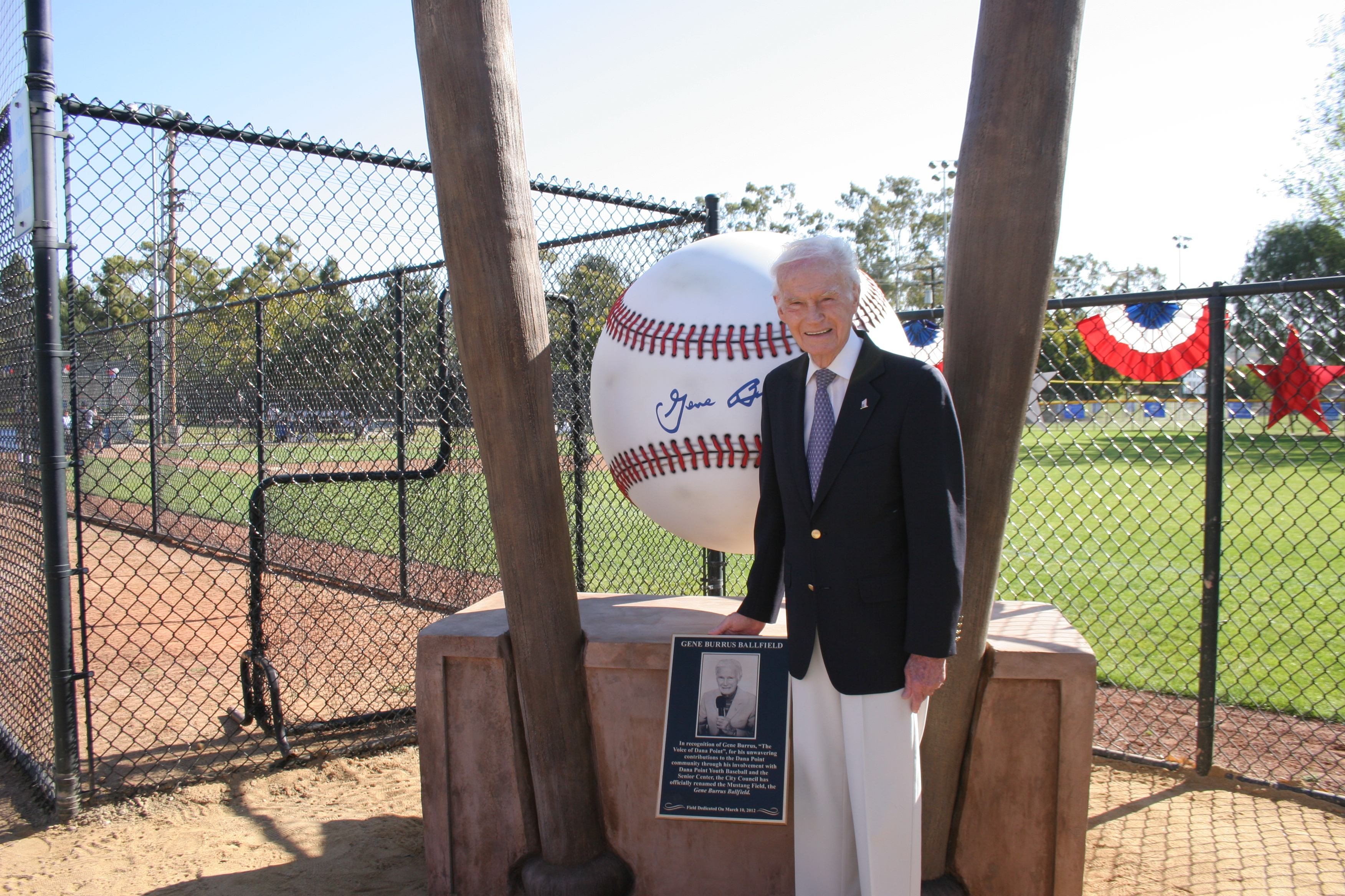 "Gene Burrus - ""The Voice of Dana Point Youth Baseball"""