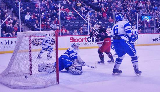Duluth East surprised several State Tournament opponents before finally being outlasted in the Boys' 2A title game. Photo credit: YHH.