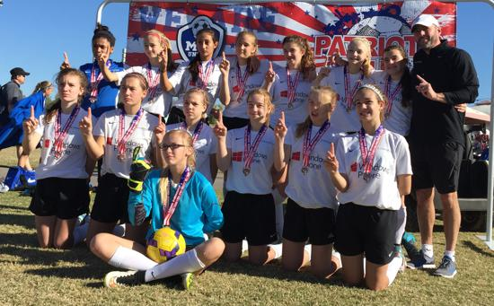 Patriot's Cup Champions - Crossfire AK 02G