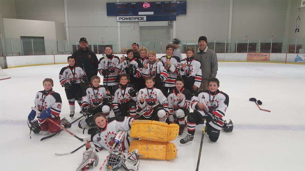 Peewee and Squirts take titles in Boise