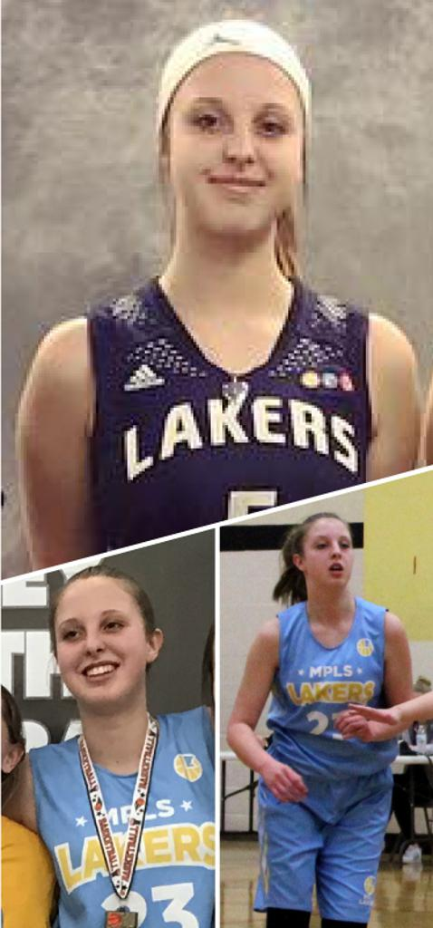 Maddy DeBruin Southwest Lakers Class of 2022  Mpls Lakers 2015-2017