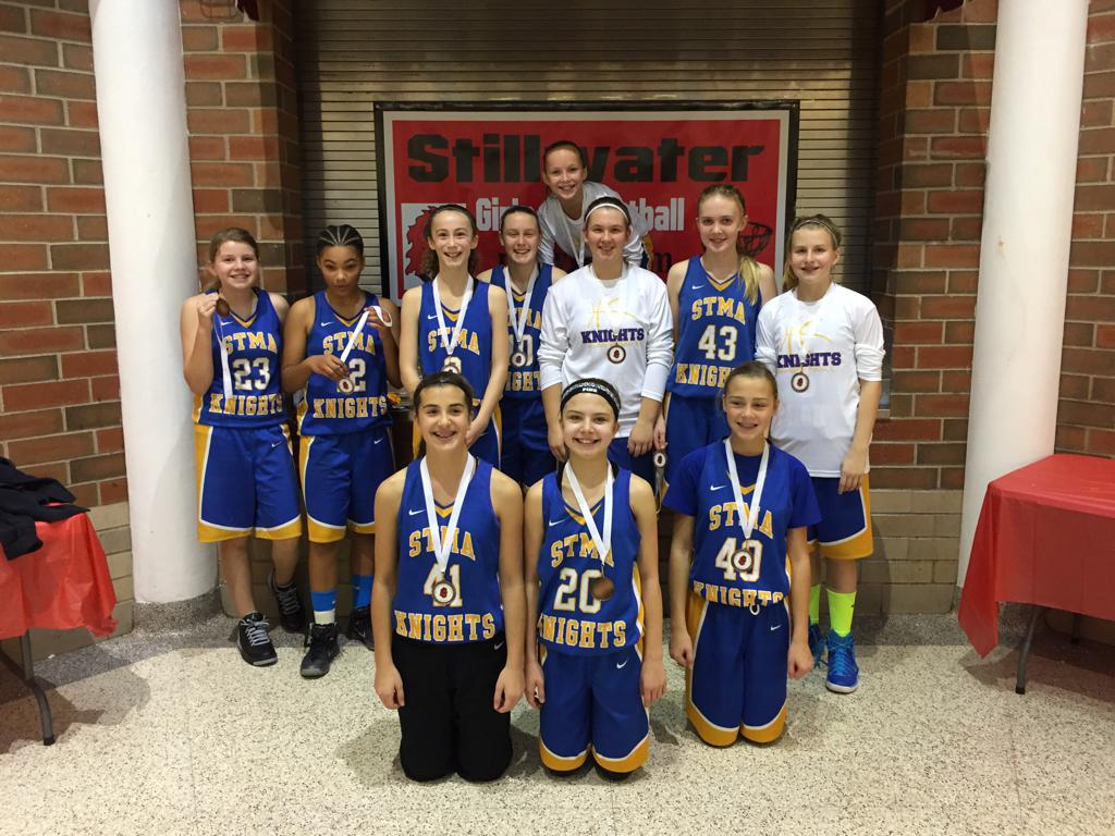 7th Grade A - 3rd Place - STMA