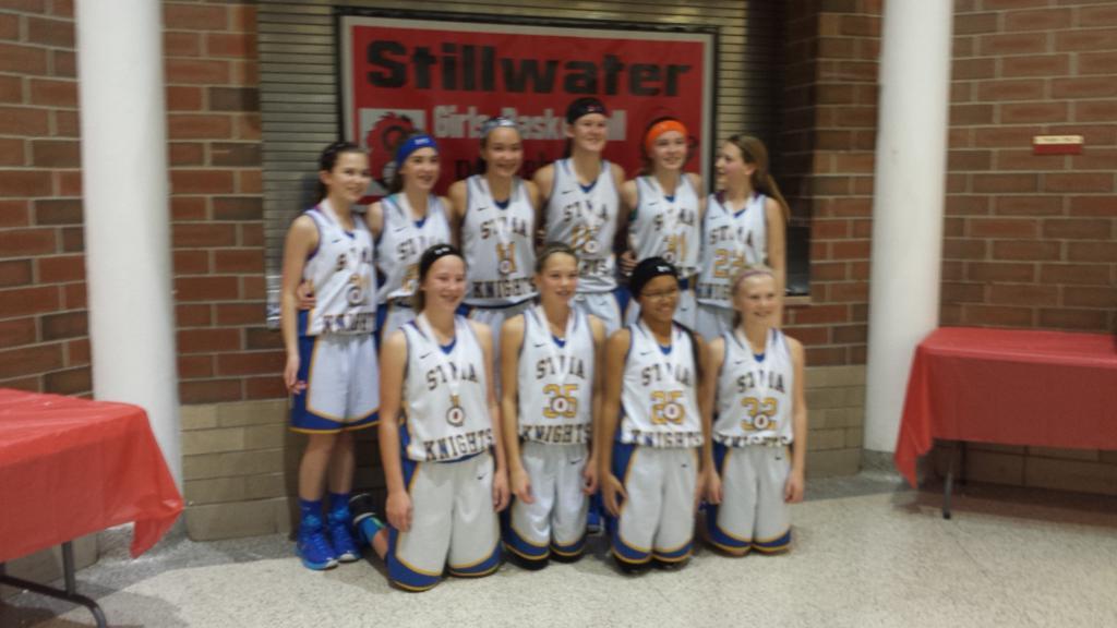 7th Grade B - 3rd Place - STMA