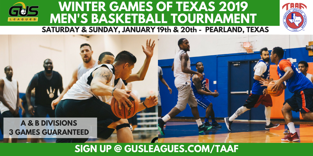 TAAF Winter Games - Basketball
