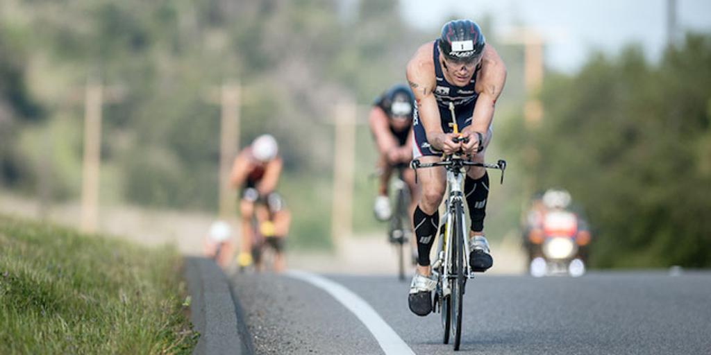 Andy Potts biking