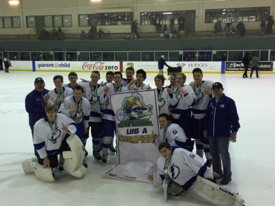 Germain Holiday Tournament Champions U16