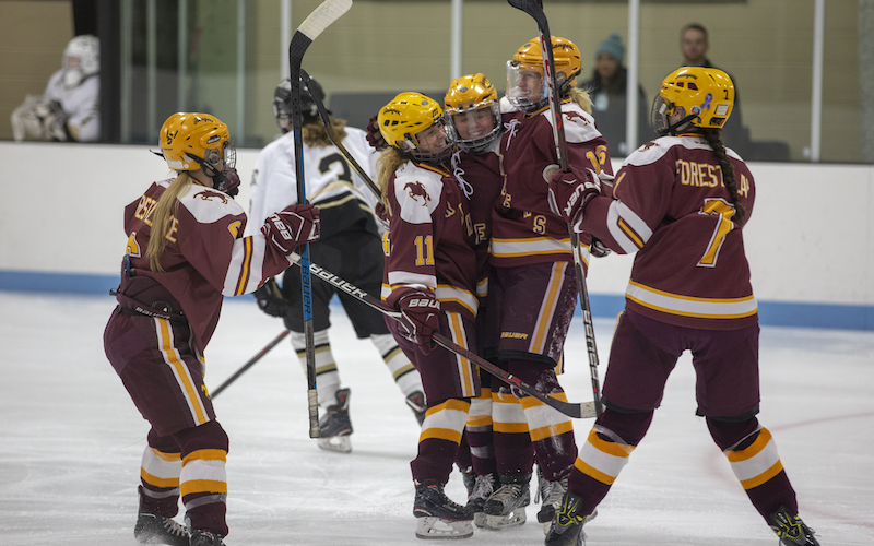 Forest Lake renews its rivalry with Andover, the top-ranked team in Class 2A, when the teams square off on Thursday. Photo by Jeff Lawler, SportsEngine