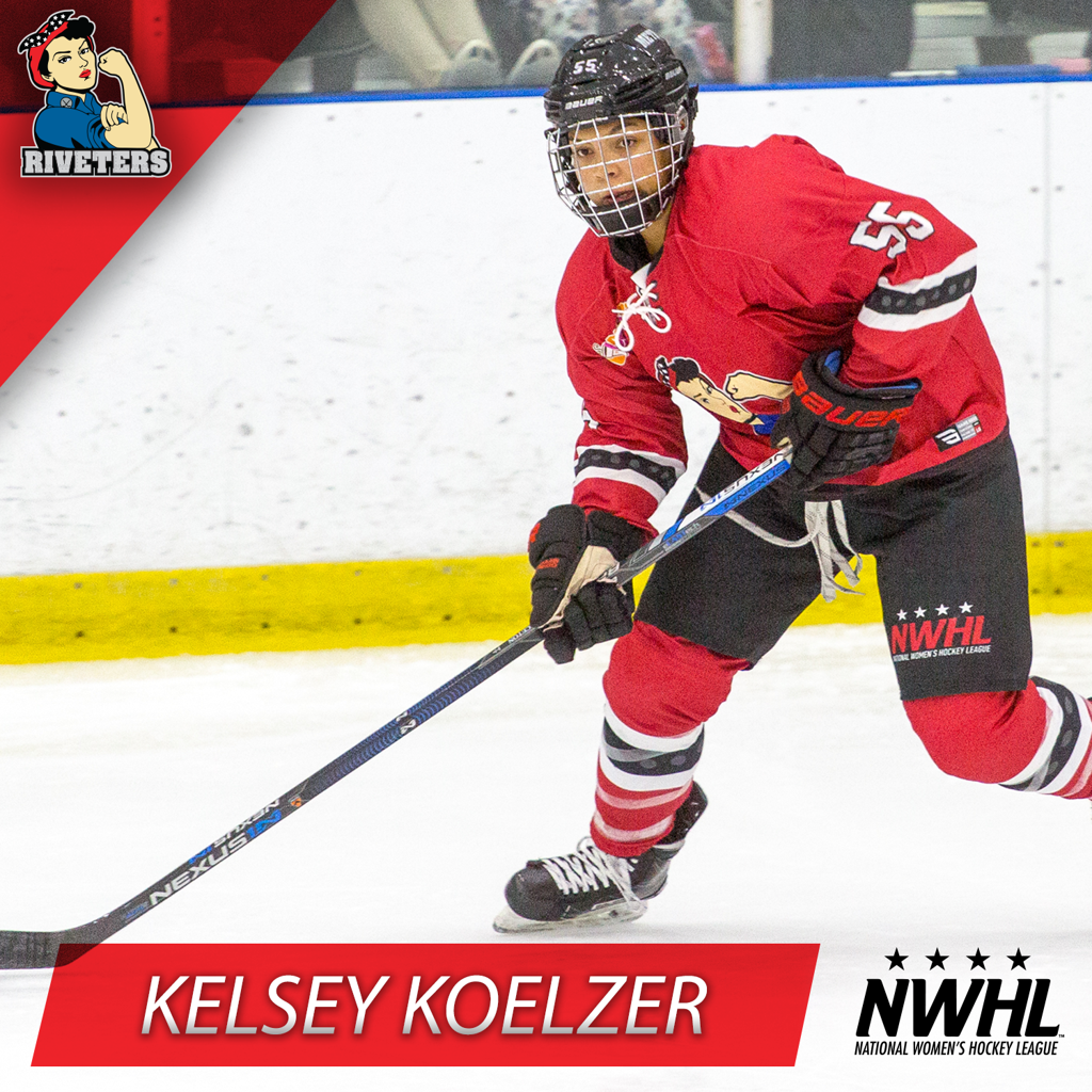 Kelsey Koelzer is Back with the Riveters