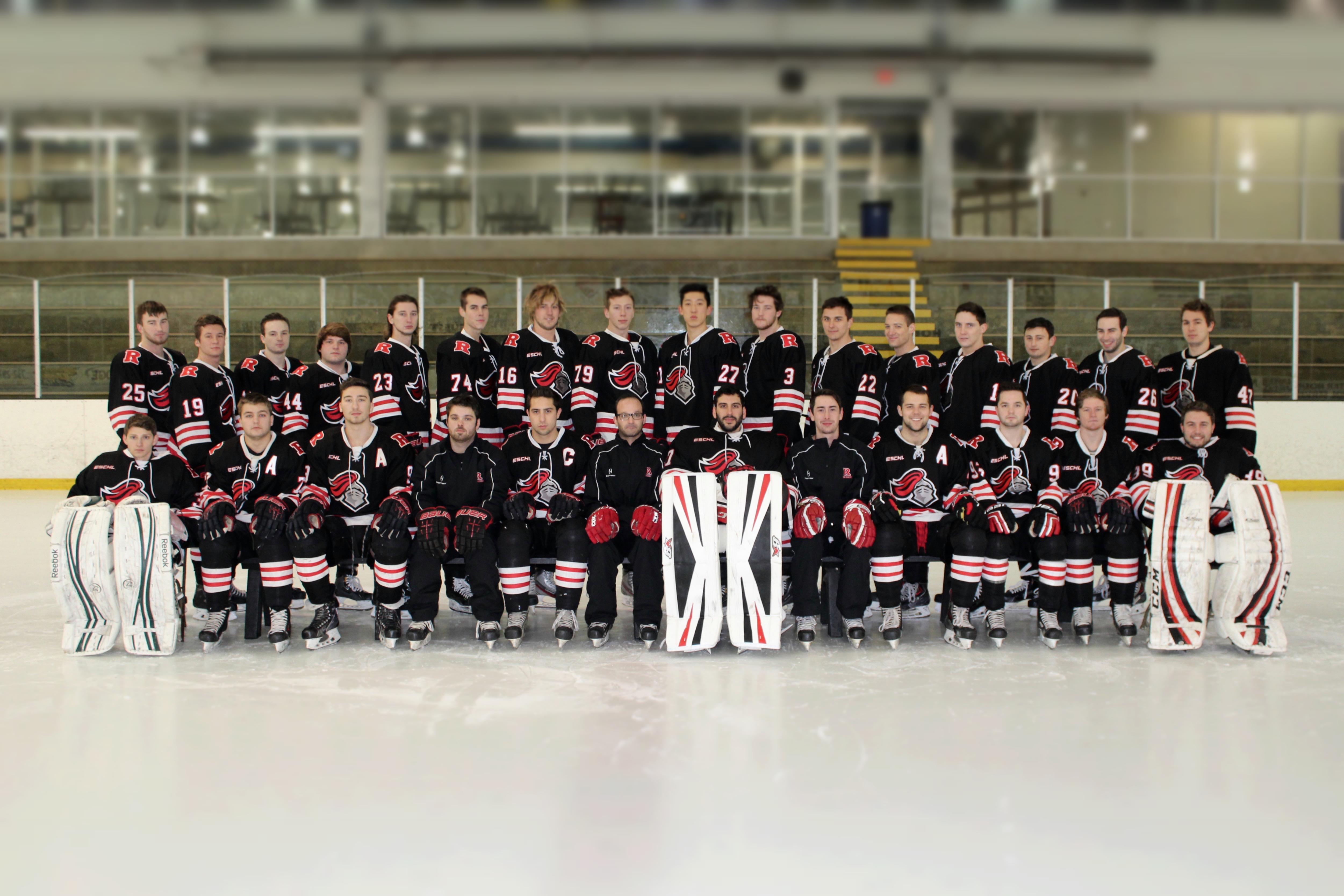2015 - 2016 D1 Ice Knights Team Photo