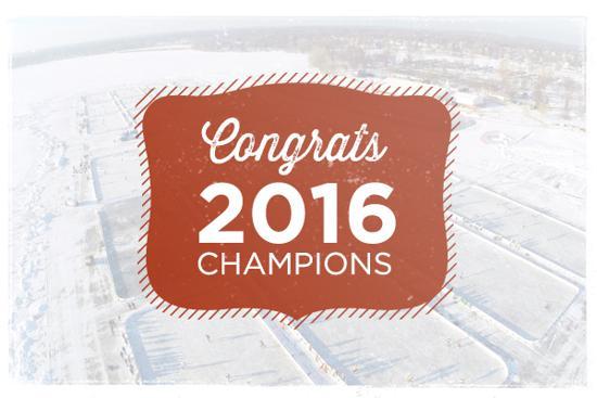 Congratulations 2015 Champions