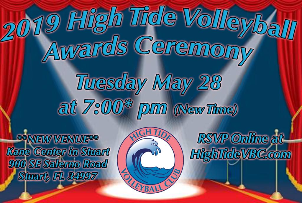2019 High Tide Awards Ceremony