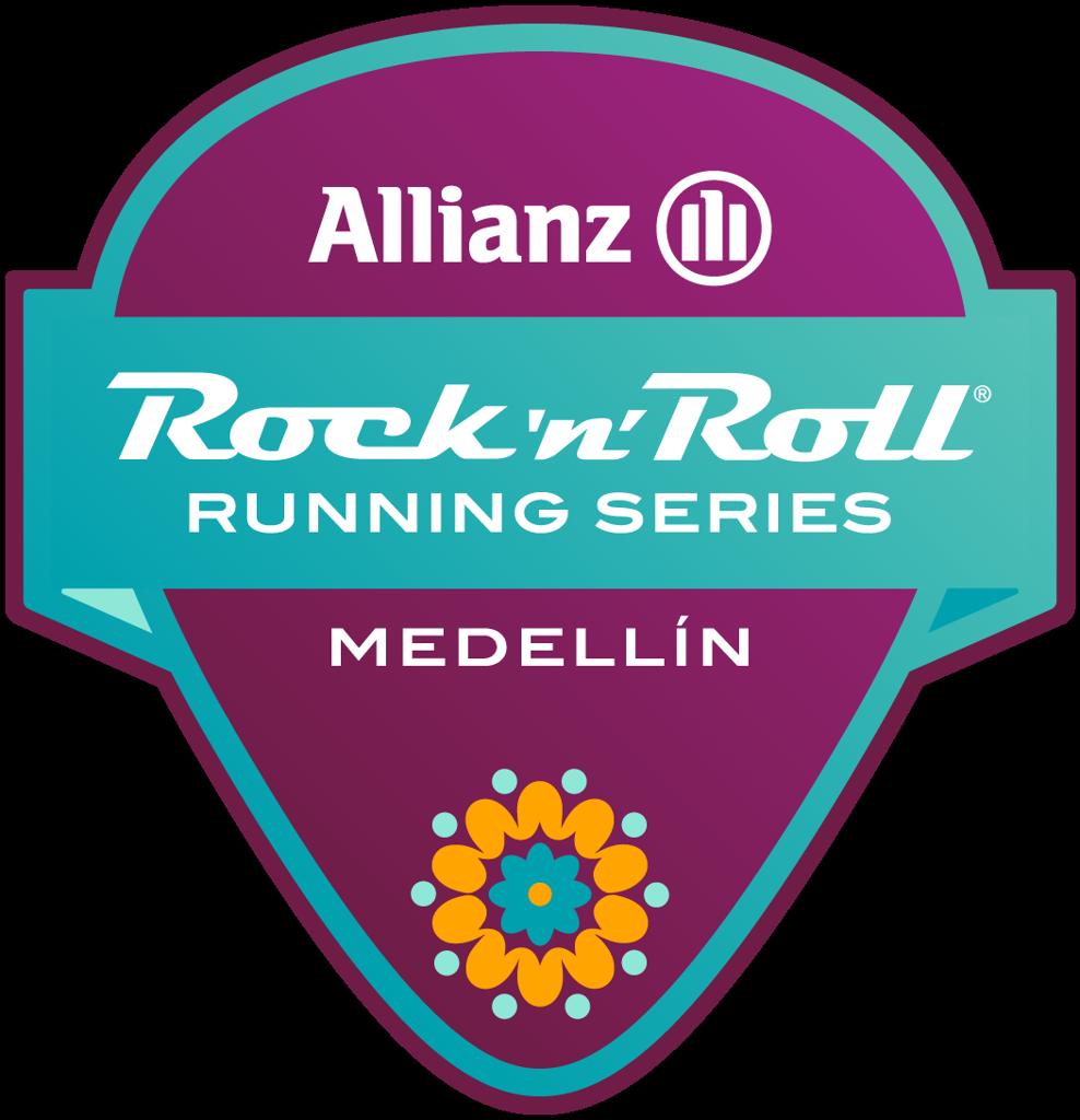 Rock 'n' Roll Medellín Guitar Pick logo