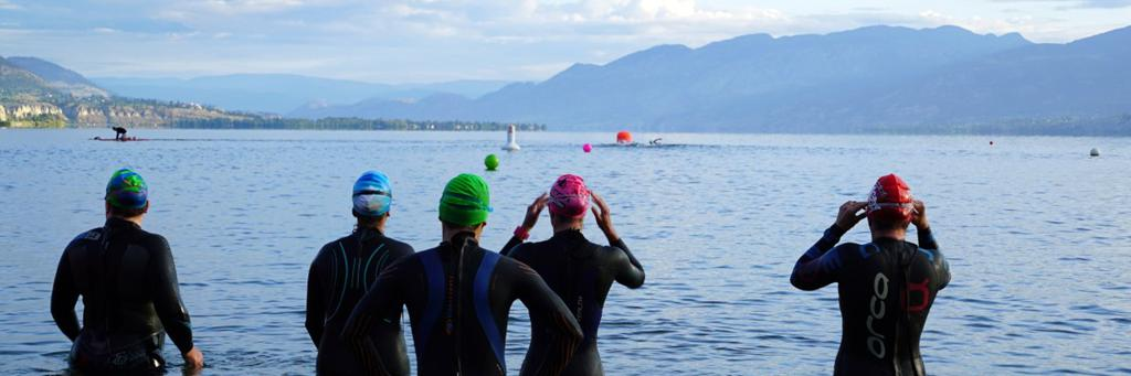 Swimmers at the ready for IRONMAN Canada