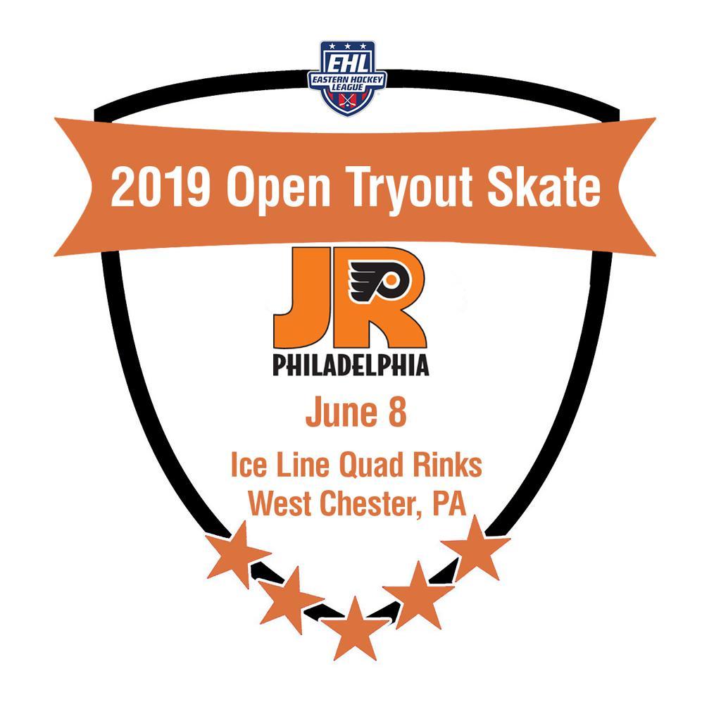 Jr. Flyers EHL Junior team to have open tryout skate on June 8