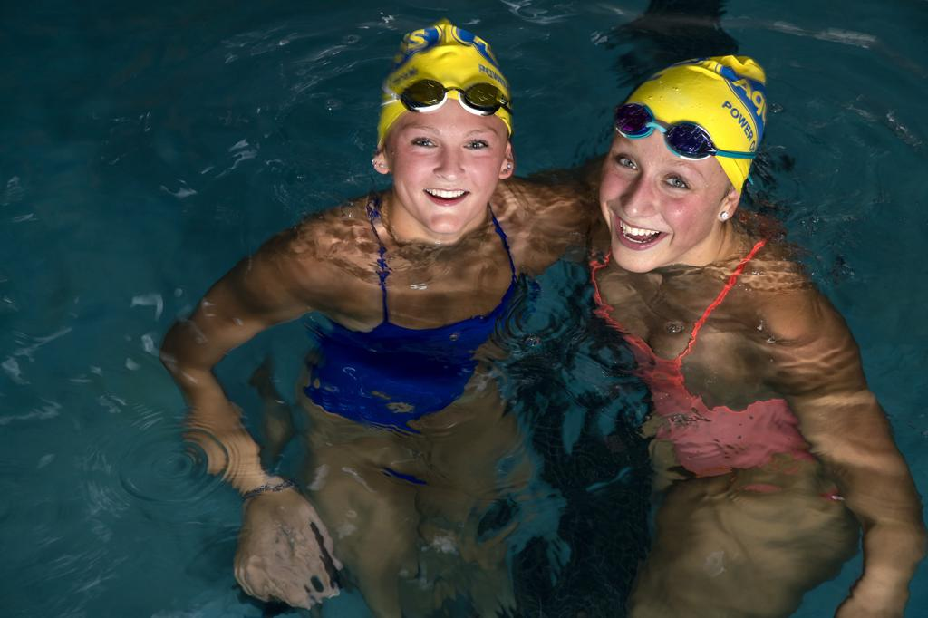 High School Swimming Champs Step Back From School -6093
