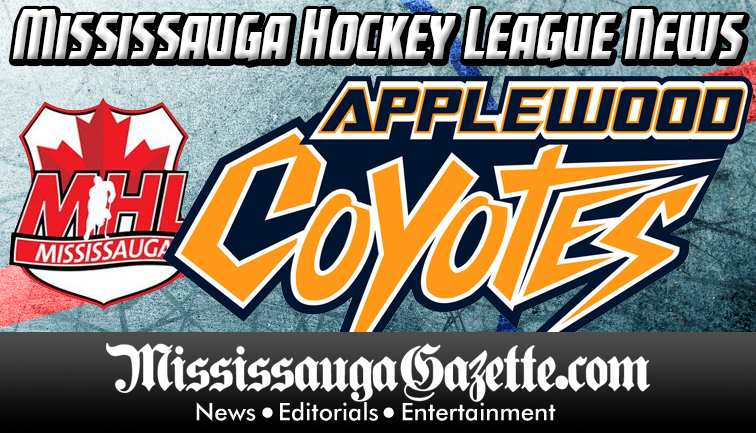 Mississauga Hockey League Logo - Mississauga Hockey - Applewood Hockey Association