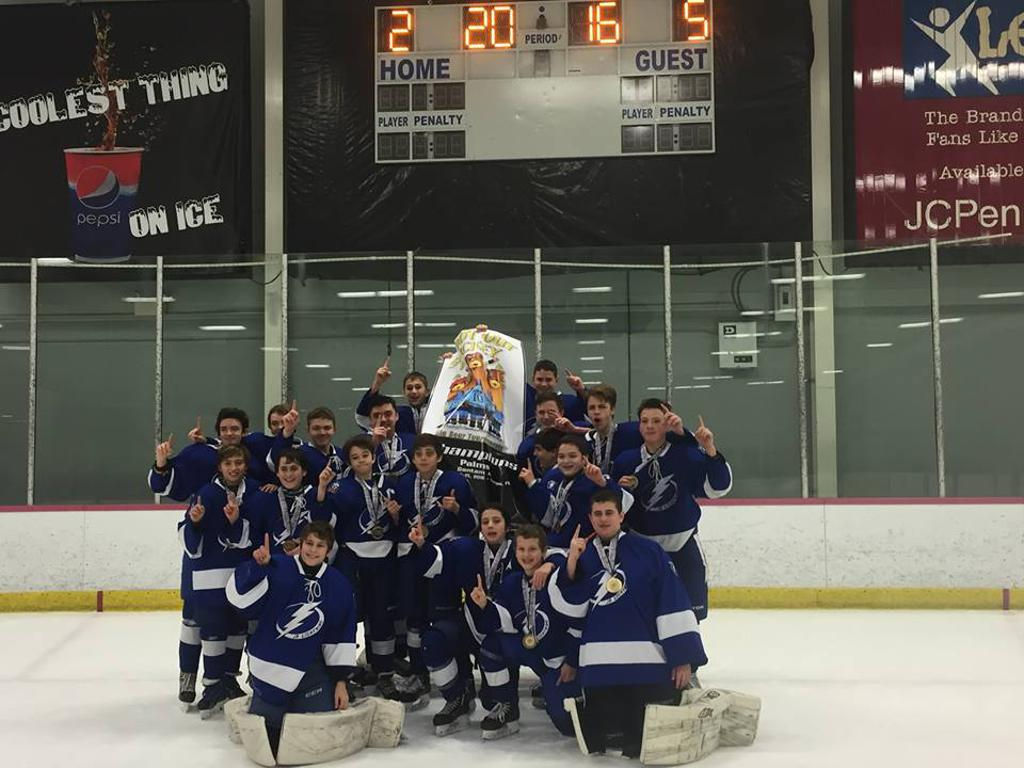 The Palms President Day Bantam A Tournament Champions!