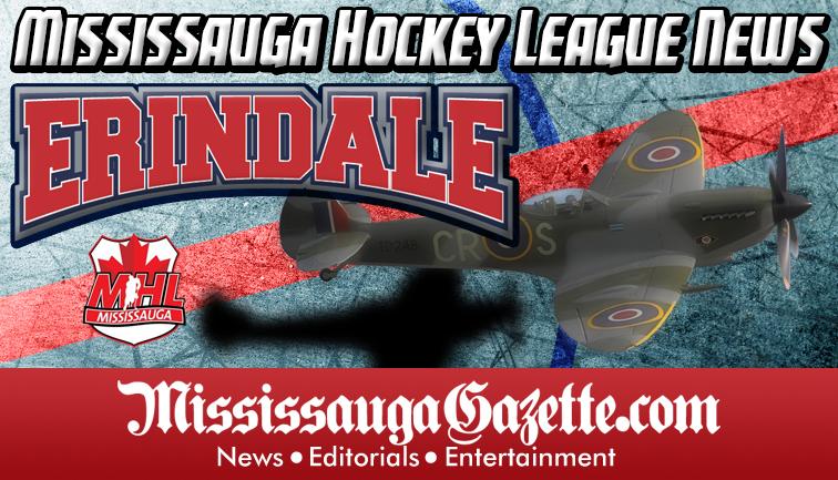 Erindale Hockey Association Logo - Erindale Spitfires Logo and Erindale Hockey Association News. Mississauga Hockey League News