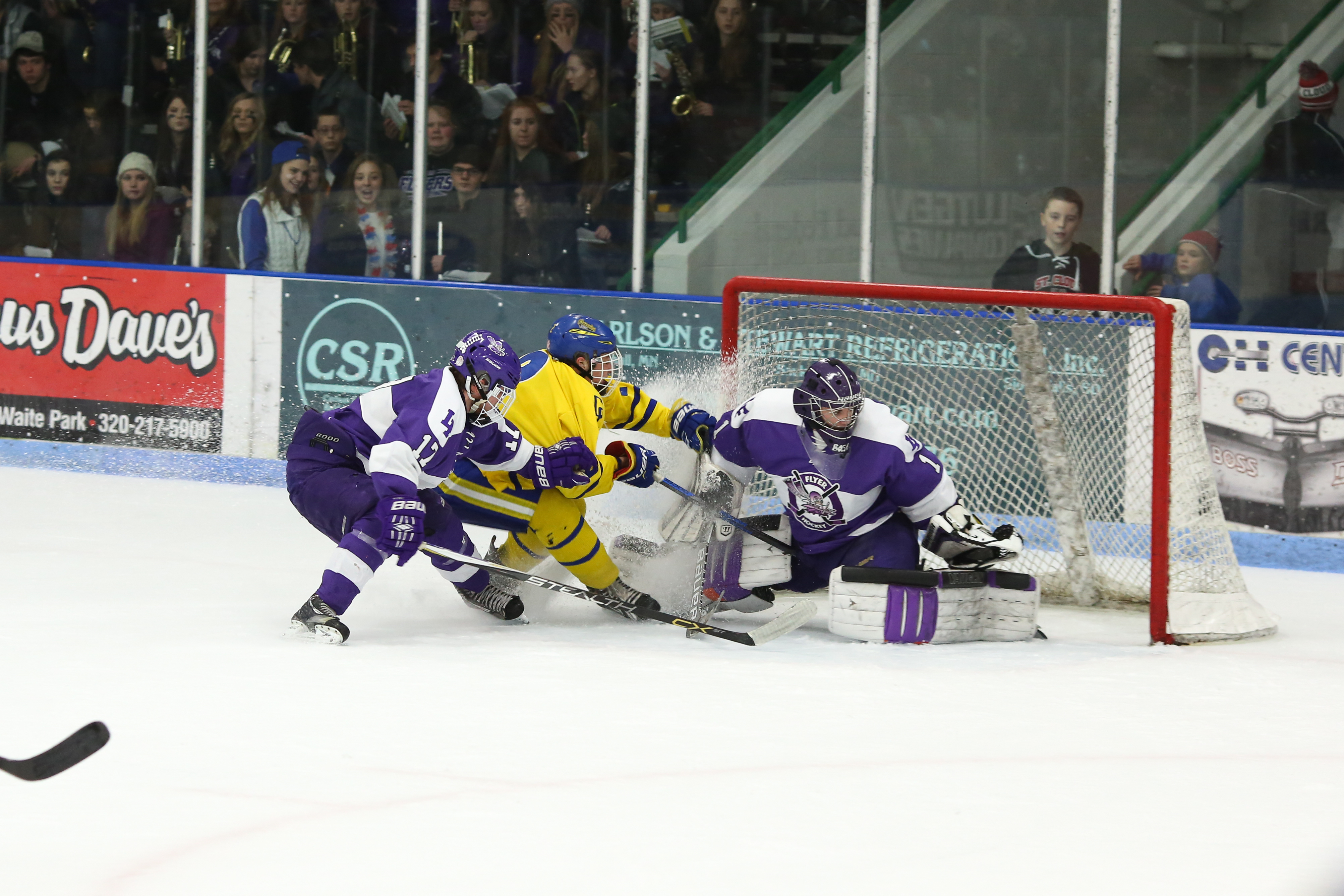 MN H.S.: Spethmann, Petroske Lead St. Cloud Cathedral Back To State