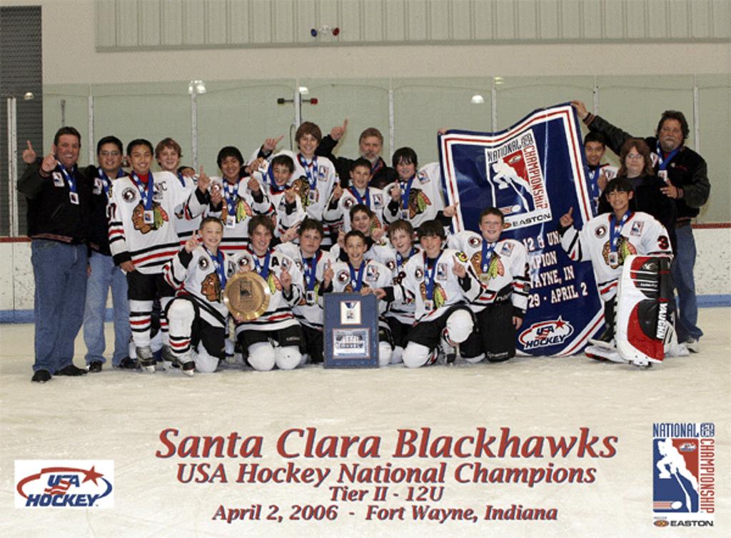 2005-2006 PeeWee AA USA Hockey National Champions