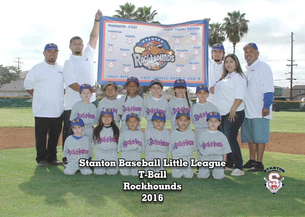 T BALL ROCKHOUNDS