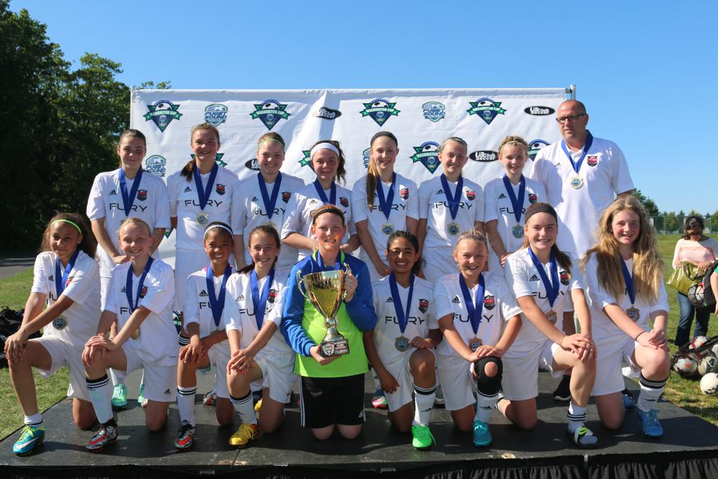 2016 Washington Cup GU12 Gold Champions!
