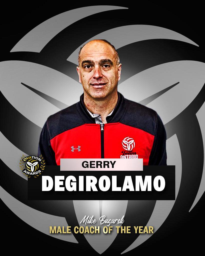 Gerry DeGirolamo named OVA 2021 Mike Bugarski Male Coach of the Year