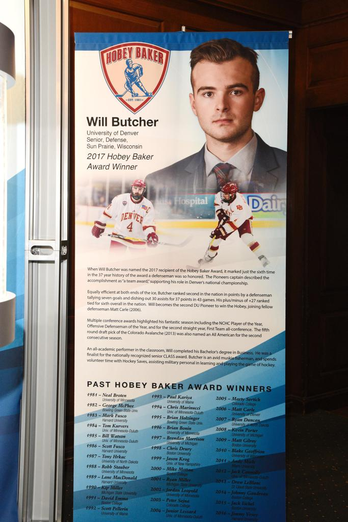 Will Butchers commemorative banner