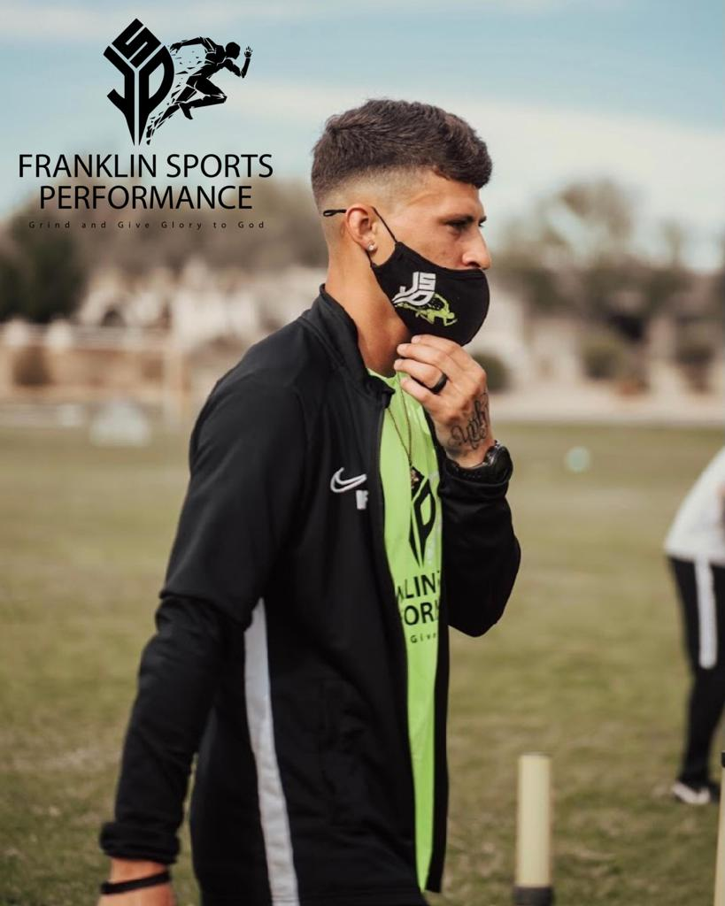 Meet Coach Devin. He is the owner and head trainer of Franklin Sports Performance (FSP), a West Phoenix-based training brand revolutionizing speed development and sport-specific training for all ages. He has been training within the club and high school s