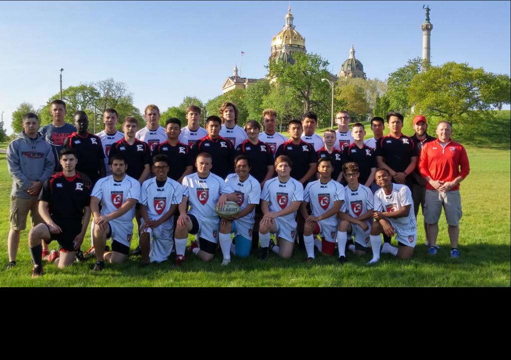2016 East High Scarlet Rugby Club Boys' Team