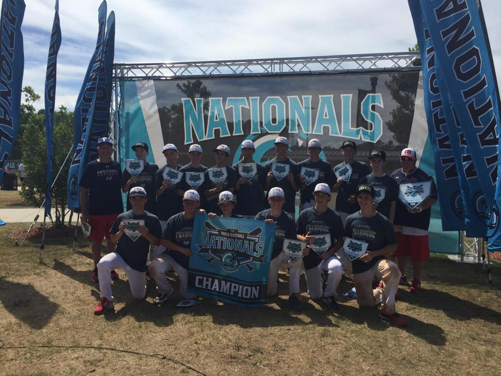 Minutemen Baseball, National Champions, 14U, Myrtle Beach