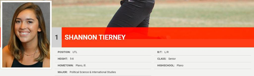 #1 Shannon Tierney