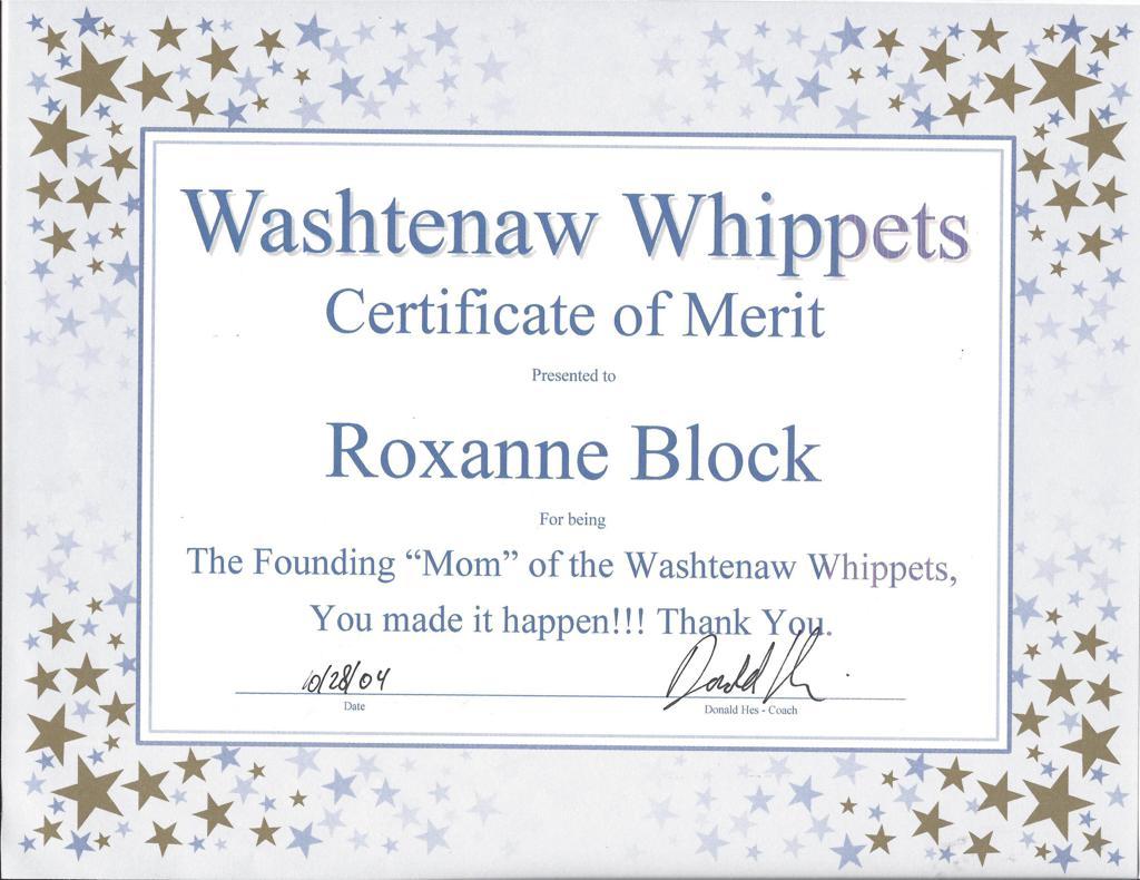 Roxy Block recognized