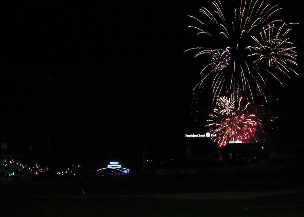 Don't miss a special pink fireworks show during the Rockland Boulders Pink in the Park event at Palisades Credit Union Park.
