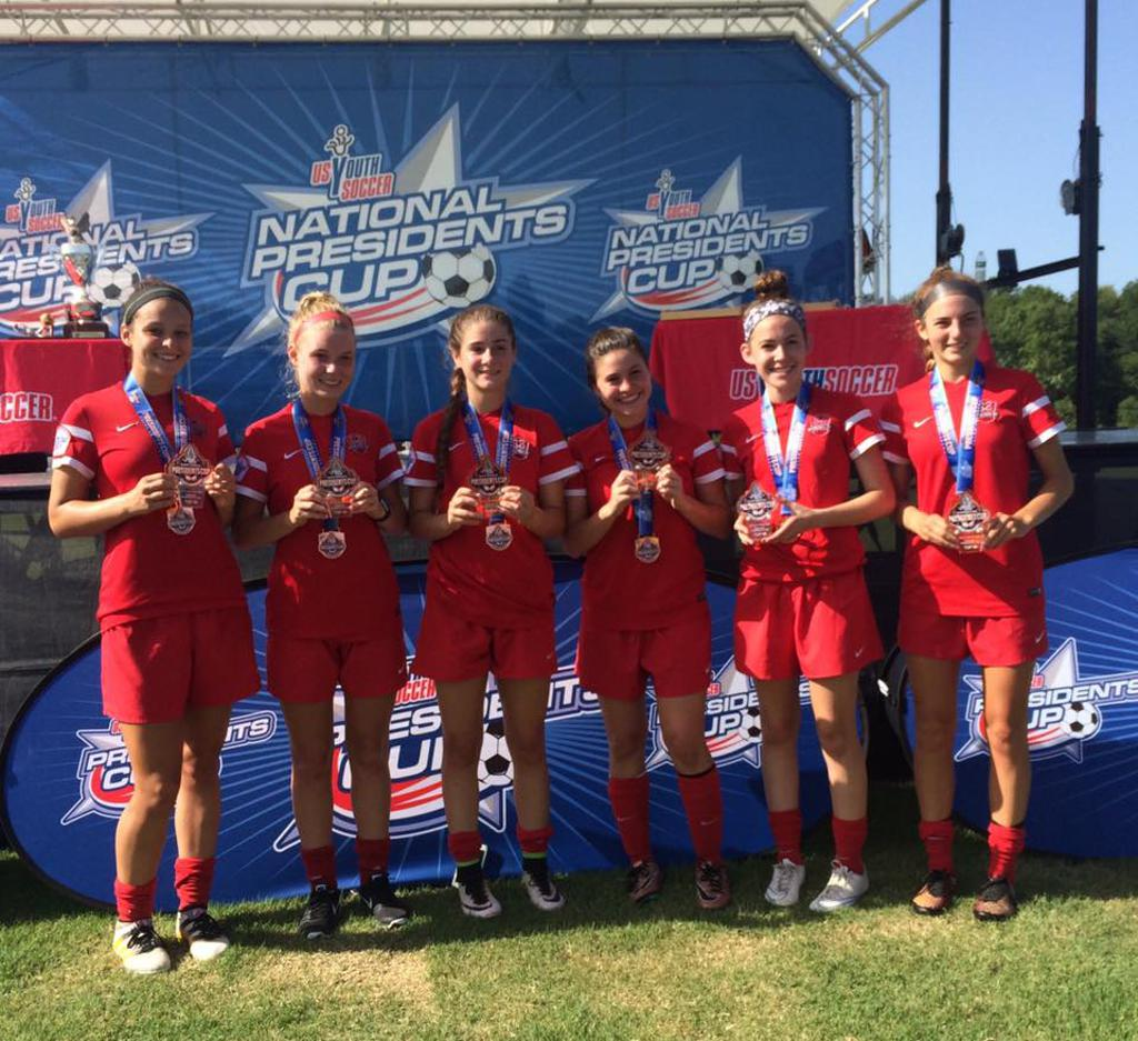 6 PLAYERS FROM THE U-16 LIGHTNING NAMED TO TOP 18